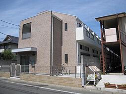 神奈川県川崎市多摩区栗谷3の賃貸アパートの外観