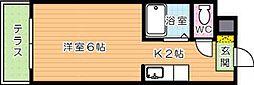 エスポワール幸神I[1階]の間取り