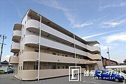 愛知県豊田市井上町5の賃貸マンションの外観