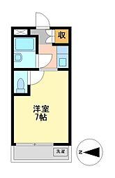 ドール栄五丁目[2階]の間取り