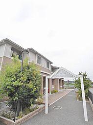 埼玉県川越市天沼新田の賃貸アパートの外観