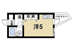 ナラ・レジデンス・モア[3階]の間取り