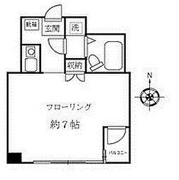 熊沢ビル[3階]の間取り