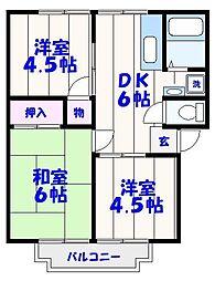 キサラギハイム[1階]の間取り