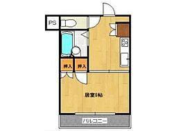 JLBグランエクリュ武蔵小金井[1階]の間取り