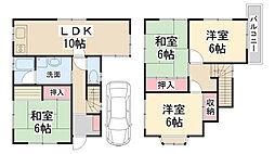 [一戸建] 兵庫県川西市多田院2丁目 の賃貸【/】の間取り