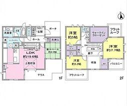 [一戸建] 千葉県柏市大津ケ丘4丁目 の賃貸【/】の間取り