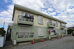 千葉県柏市東3の賃貸アパートの外観