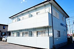 東峰町1Kアパート[1階]の外観