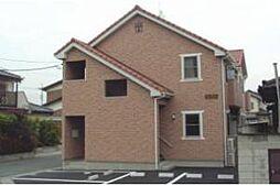 栃木県足利市朝倉町3丁目の賃貸アパートの外観