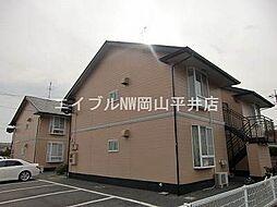 岡山県岡山市東区大多羅町丁目なしの賃貸アパートの外観
