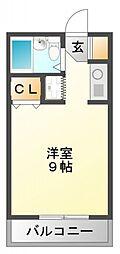 江坂第一下伊マンション[6階]の間取り