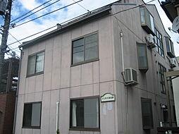 東京都東久留米市前沢5丁目の賃貸アパートの外観