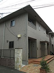 神奈川県川崎市中原区宮内4丁目の賃貸アパートの外観
