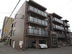 北海道札幌市東区北十七条東4丁目の賃貸マンションの外観