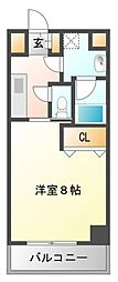 エルソル江坂[4階]の間取り