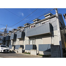 埼玉県八潮市南後谷の賃貸アパートの外観