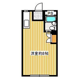 村田ハイツ[102号室]の間取り