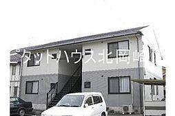 愛知県岡崎市若松東2丁目の賃貸アパートの外観
