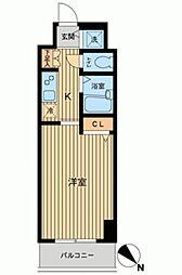 HF東神田レジデンス[0503号室]の間取り