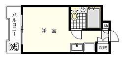 ユースフル妙蓮寺[402号室]の間取り