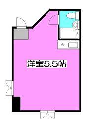 セゾン新秋津[3階]の間取り