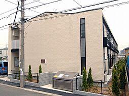 千葉県市川市曽谷1丁目の賃貸アパートの外観