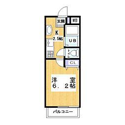 (仮称)キャメル草加吉町2丁目 2[2階]の間取り