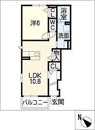 ヴィオラ21−III[1階]の間取り