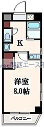 M'プラザ高井田[7階]の間取り