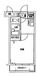 サンテミリオン目黒東山弐番館[2階]の間取り