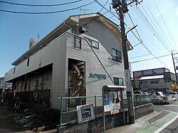 埼玉県草加市栄町2丁目の賃貸アパートの外観
