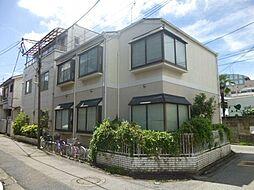 東京都足立区中央本町4丁目の賃貸アパートの外観