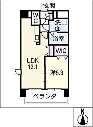 LIVE南新町[4階]の間取り