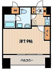 東京都大田区大森本町2丁目の賃貸マンションの間取り