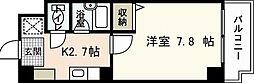 JRBハイツ横川[3階]の間取り