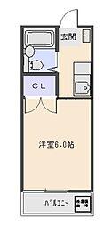 ビューラー三ケ島パート2[207号室号室]の間取り