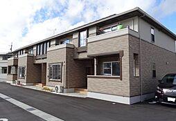 広島県東広島市西条町下三永の賃貸アパートの外観