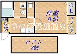 ココファイン千林[3階]の間取り