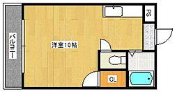 ラフォーレ御井[3階]の間取り