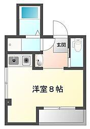 コルディアーレ[3階]の間取り