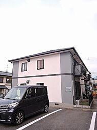 福岡県中間市通谷2丁目の賃貸アパートの外観