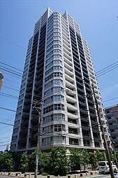 福岡県福岡市中央区港1丁目の賃貸マンションの外観