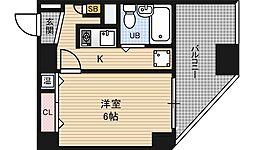 エスリード福島第2[9階]の間取り