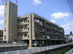 京都府八幡市八幡五反田の賃貸マンションの外観