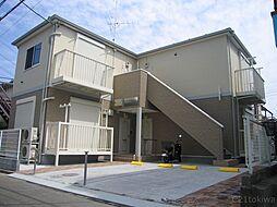 埼玉県朝霞市栄町1丁目の賃貸アパートの外観