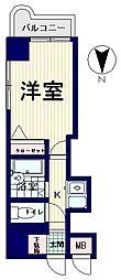 フェニックス新高円寺[8階]の間取り