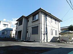 静岡県三島市長伏の賃貸アパートの外観