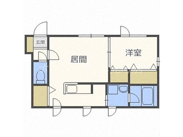 RILASSA N37[3階]の間取り