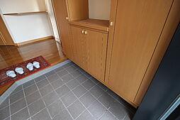 シューアズボックスがあるため散らかりがちな玄関もすっきり使えます